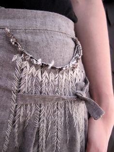 graphandcompass:    (via Textiles / beautiful stitches. umit unal via worthwhile)