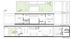 Planos de casas de dos pisos angosta