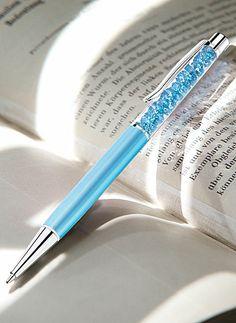 Swarovski Crystalline Aquamarine Ballpoint Pen