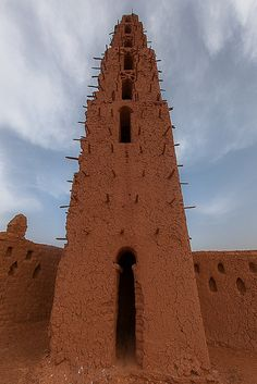 Mud Mosque - #Burkina-Faso