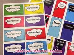 Spark Student Motivation: Shout Out Cards-Great for students or staff! Recognize great work with positive praise!