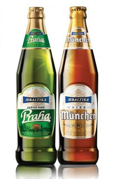Baltika beer presents the new collection: beers of the world. Designed by Cartils for Carlsberg Russia