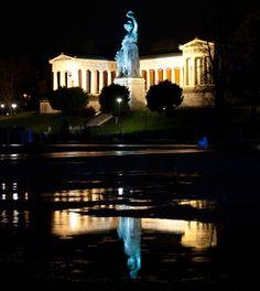 #Bavaria #Theresienwiese  #München bei Nacht