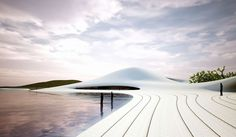 The Chinese architecture firm MAD recently revealed plans for their new Pingtan Art Museum. At a projected m², it will be one the largest museums in Asia Chinese Architecture, Futuristic Architecture, Parametric Architecture, Museum Architecture, Architecture Visualization, Amazing Architecture, Landscape Architecture, Design Museum, Art Museum