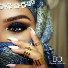 Восточный макияж. Секреты арабского макияжа. | Маникюр