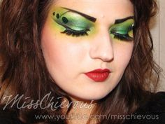 Early makeup test for the Wicked Witch of the West with Gale ...