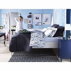 ALVINE KVIST full/queen duvet cover set - - decorating idea