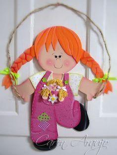 description Mais #gomaeva Kids Crafts, Foam Crafts, Diy Craft Projects, Diy And Crafts, Projects To Try, Arts And Crafts, Paper Crafts, Class Decoration, Monster High Dolls