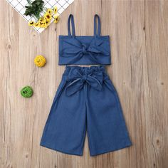Baby / Toddler Bow Decor Strappy Trendy and Shorts Set Frocks For Girls, Dresses Kids Girl, Kids Outfits Girls, Girl Outfits, Cute Outfits, Girls Frock Design, Baby Dress Design, Baby Girl Dress Patterns, Baby Frocks Designs