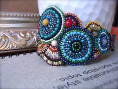 Art Studio Beaded Bracelet by ARTSTUDIO51 on Etsy, $160.00