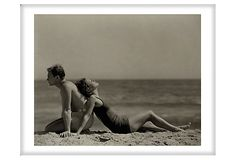 Doug Fairbanks & Joan Crawford on OneKingsLane.com - would love this kind of art work - if we call it that - in the cape house.