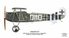 Fokker D.VII ... by Ronny Bar