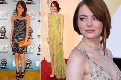 How Emma Stone transformed her style from girl-next-door to award-winning red carpet chic