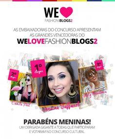 Certamente vocês já ouviram falar por aí do Concurso We Love Fashion Blogs, promovido pela Petite Jolie e em parceria com o F*Hits e suas blogueiras _o/, certo? Pois bem, o concurso é uma iniciativa SUPER bacana que promove blogs e novos talentos bloguísticos pelo Brasil! O WLFB está em sua 2a edição e o …