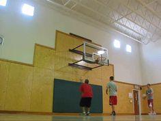 Crazy Basketball Shot