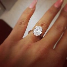 My character Elizabeth's engagement ring--she would not have long nails, though.
