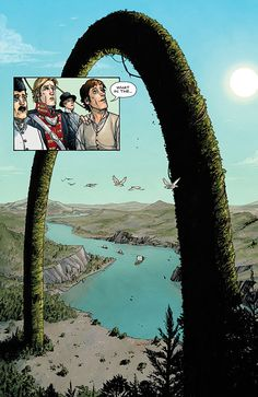When I knew this comic was good.  Manifest Destiny.