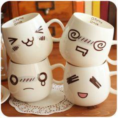 Cute animal mugs