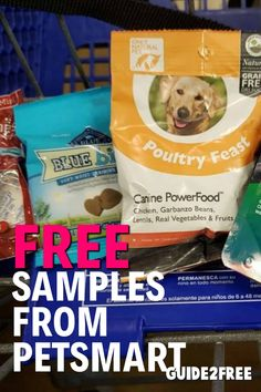 FREE Samples at PetSmart on Sample Saturday Be sure to swing by Sample Saturday so your dog or cat can have a taste of delicious free samples! This month we'll be sampling foods from Simply Nourish, Hill's Science Diet, Blue Buffalo and Authority. Free Samples By Mail, Free Stuff By Mail, Coupons For Free Items, Jobs For Housewives, Free Cat Food, Free Sample Boxes, Science Diet, Cat Stuff, Program Design