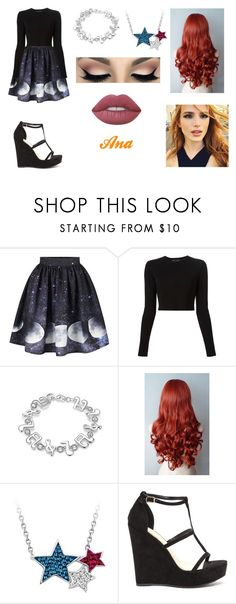 """""""Ana"""" by lilibessa on Polyvore featuring moda, Proenza Schouler, WithChic e Lime Crime"""