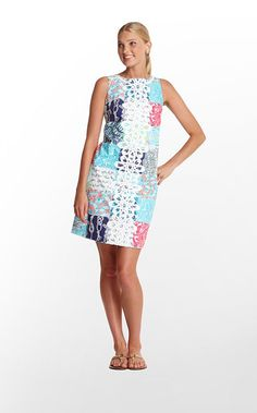 In love. Lilly Pulitzer Worth Shift Dress