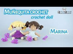 Cómo tejer tu propia muñeca de ganchillo - Marina + ¡SORTEO! - YouTube