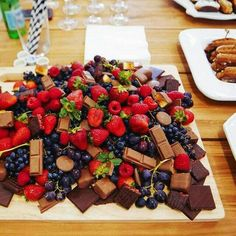 Add chocolate to your fruits and make a great combination. Visit www.plan4event.com