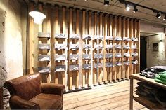 RETAIL STORE PATAGONIA | TRENTO ITALY| design and installation by optie A and studio jet