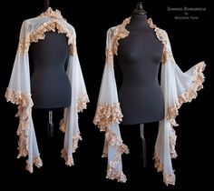 Angelic shrug ivory, Somnia Romantica by M. Turin by SomniaRomantica on @DeviantArt
