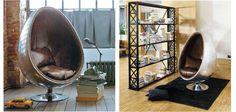 Кресло яйцо Aviator Egg Chair