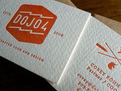 dojo4 Business Cards  by dojo4