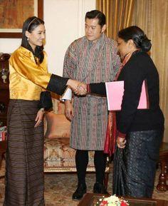 Their Majesties King Jigme Khesar Namgyel Wangchuck and Queen Jetsun Pema of Bhutan visit Inda 1/6/2014