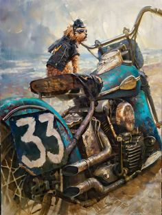 Official Website of Fine Artist David Uhl. Collections include motorcycle art, aviation art, automotive art, pin-up art. Harley Davidson Art, Harley Davidson Motorcycles, Motorcycle Art, Bike Art, Knucklehead Motorcycle, David Mann Art, Bulletins, Aviation Art, Vintage Motorcycles