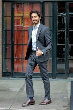 Cheerful reporter/tv personality - smiling with a gun to his back Beautiful Men, Beautiful People, Actors Funny, Dev Patel, Sharp Dressed Man, Good Looking Men, My People, Perfect Man, Celebrity Crush
