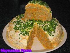 Как печь печёночный торт
