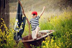 Carmel children's photographer pirate shoot