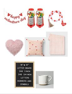 Cute finds to make your cozy home festive with love.