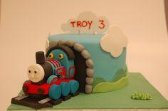 Thomas de trein cake