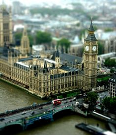 England - London - Big Ben Tilt-Shift photo by Suviko Places Around The World, Oh The Places You'll Go, Places To Travel, Places To Visit, Around The Worlds, Travel Things, Travel Stuff, Wonderful Places, Great Places