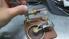Miniature Steam Engine, Mini Steam Engine, Live Steam Locomotive, Custom Lighters, Stirling Engine, Metal Puzzles, Automotive Engineering, Science Projects For Kids, Simple Machines