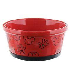 Disney Mickey Mouse Dog Bowl | Food & Water Bowls | PetSmart