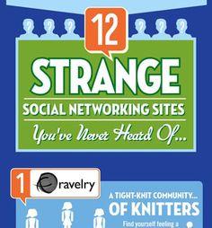 [Infographic] Voor ieder wat wils: 12 (soms héél vreemde) sociale communities op een rij
