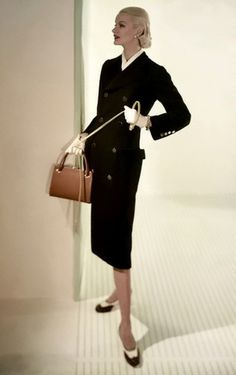 Sunny Harnett, 1955  I would wear this outfit today!