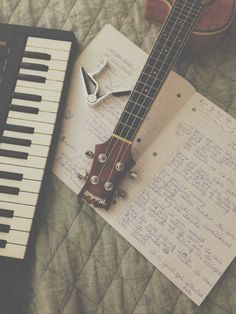 i've been playing the piano since grade and the ukulele since and i take guitar class in my school. i partially taught myself piano and guitar, but i completely taught myself ukulele,, Sound Of Music, Music Is Life, My Music, Music Guitar, Acoustic Music, Music Pics, Vinyl Music, Acoustic Guitars, Music Photo