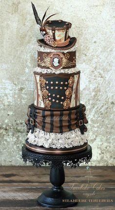 Steampunk cake - Cake by Tamara
