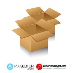 Free package box vector - Pixsector Free Vector Images, Vector Free, Package Box, Free Vector Illustration, Box Packaging, Psd Templates, Drawings, Photos, Pictures