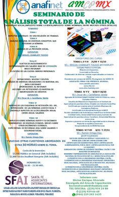 """ASISTE AL """"SEMINARIO DE ANÁLISIS TOTAL DE LA NÓMINA"""" VIERNES 25 DE SEPTIEMBRE DEL 2015 http://actualizandome.com/th_event/seminario-de-analisis-total-de-la-nomina-2/?utm_content=buffercbf3a&utm_medium=social&utm_source=pinterest.com&utm_campaign=buffer #FB #CPTWITTER"""
