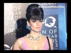 Kangana Ranaut snapped at GQ men of the year awards 2013.