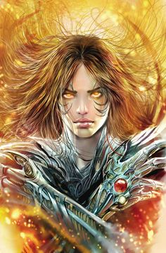 witchblade tpb cover by *nebezial on deviantART