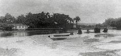 Rio Tietê, 1887. (Militão Augusto de Azevedo)